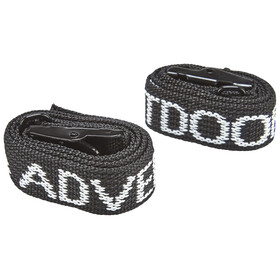CAMPZ Lashing Strap Set of 2 black